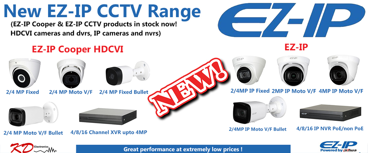 KD Electronics - CCTV, TV, Audio & Networking Distributor Cork