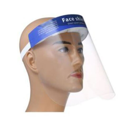 Disposible Face Safety Shield Fluid Resistant