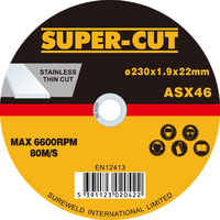Super-Cut Thin Stainless Steel Cutting Discs