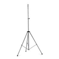 Euromet 01286   Loudspeaker stand, steel, galvanized, H: 1510-2510 mm