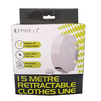 Orwell 15mtr Single Line Retractable Clothes Line