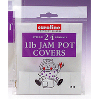 Caroline 1lb Jam Pot Covers