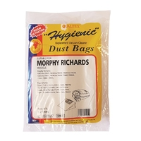 Paper Vacuum Bags Morphy Richards Domatic 5 Pk+2 Filters SDB205