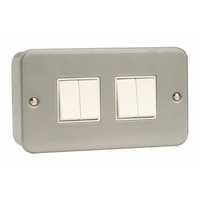 Click CL019 4G 10A 2 Way Switched Metalclad