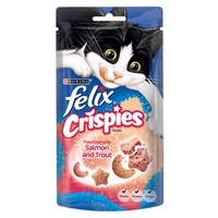 Felix Crispies Salmon & Trout 45g x 8