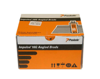 PASLODE 32MM ANGLE FINISH BRAD NAIL BOX (2000, 2 GAS)