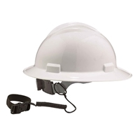 ERGODYNE 3157 Coil Hard Hat Lanyard with Buckle 19157
