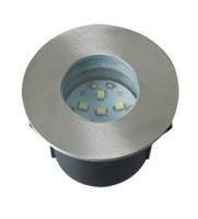 ROBUS EWOK LED mains groundlight, IP67, 6 White LED'S, 6000K