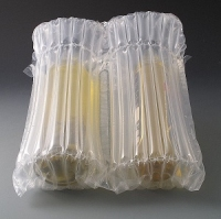 Double wine inflatable packaging