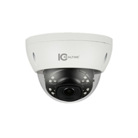 IC Realtime 6MP H.265E 2.8mm Fixed 30m IR IK10 Dome Camera with Audio/Alarm I/O
