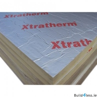XTRATHERM POLYISO XTUF D/FOIL 120MM - 1200MM X 2400MM
