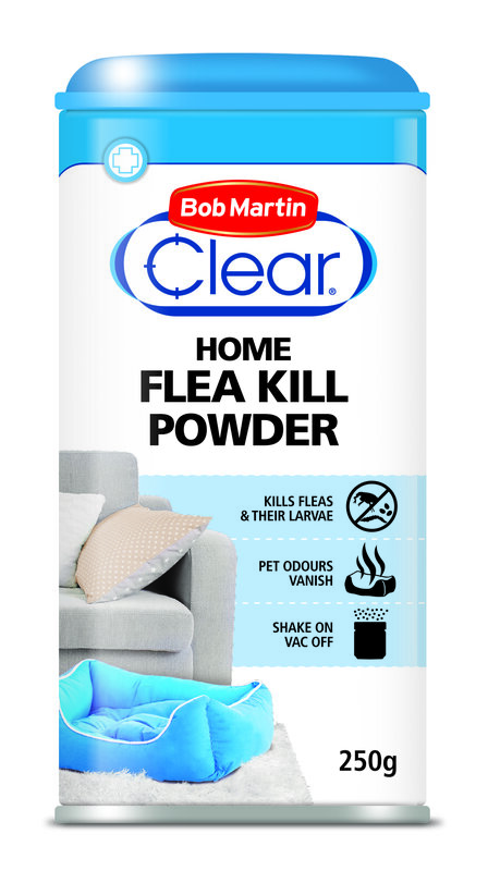 Bob Martin Clear Home Flea Powder 6 x 250g