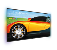 "Philips 55"" Signage Solutions Q-Line Display with immersive Ambilight"