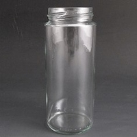 270ml Round glass jar