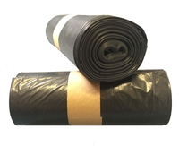 "18290 Black Refuse Sacks 26"" x 44"" Heavyweight (Box 200)"