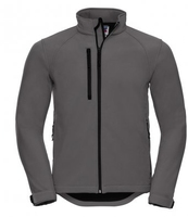 J140M Gents Grey Elite Soft Shell Jacket