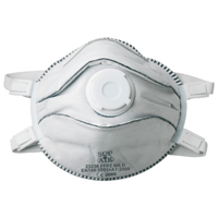 Standard valved Cup-shaped P2 Welding mask (5 per pack)