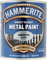 5158234 HM METAL PAINT SMOOTH SILVER 750ML 33% EXTRA