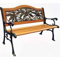 Cast Iron Hardwood Bench
