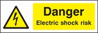 Warning and Electrical Hazard Sign WARN0014-1583