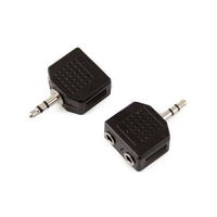 APC-3028 | 3.5MM STEREO MALE PLUG TO DOUBLE 3.5MM MONO JACKS