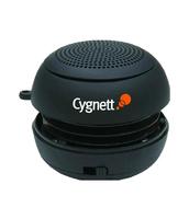 Cygnett groovebassball black mini speaker