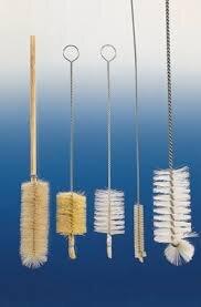 Beaker Brush 400mm Bristle Head Wood Handle,