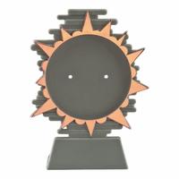 14cm Plastic Blaze Disc Holder Bronze (V202C)