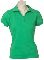 Ladies Neon Slim Fit Poly/Cotton Polo