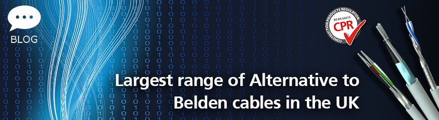 Belden Alternatives - Largest Range in UK