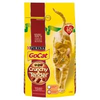 Go-Cat Crunchy & Tender Beef Chicken & Veg 1.5kg