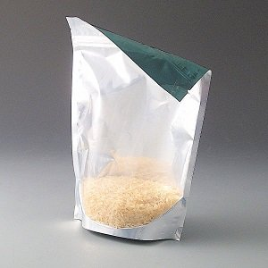 500g Clear/Green Pouch