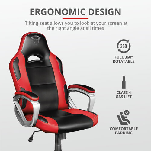 Trust GXT 705R Ryon Gaming Chair - Red 2