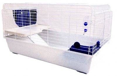 Little Zoo R4 Rabbit 100 Indoor Rabbit Cage Medium x 1