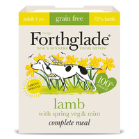 Forthglade Complete Grain-Free Adult Lamb with Spring Veg & Mint 395g x 7