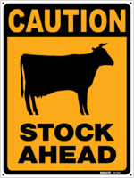 CAUTION Stock Ahead