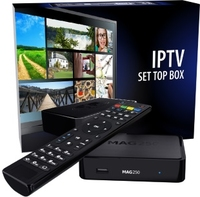 MAG 250 IPTV Set Top Box