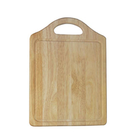Rubberwood Chopping Board 25x35cm Medium