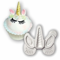 KATY SUE MOULDS : UNICORN EARS, HORN & LASHES