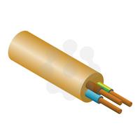 3x0.75mm PVC Flex Gold