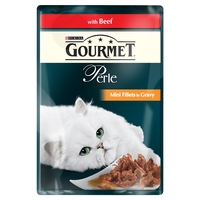 Gourmet Perle Pouch Grilled Beef 85g x 24