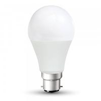 11w A60 Plastic Bulb 3000K B22