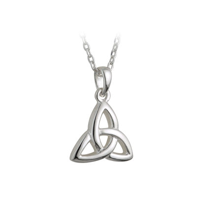 sterling silver kids trinity knot pendant s44720 from Solvar