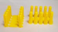 Schneider Electric 1001007 TP1 Wall Plug Yellow