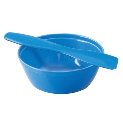 Spatula & Bowl Set 180mm (Blue)