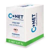 C-NET CAT5E UTP Indoor Cable Grey- 305m Box