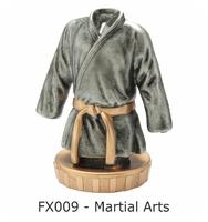 Martial Arts Flex Figure 75mm (Silver & Gold)