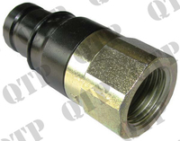 "Connector 1/2"" Male Flat Faced"