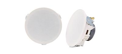 """Adastra 4"""" Slim Ceiling Speakers - Pair"""