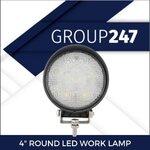 "4"" ROUND LED WORK LAMP"